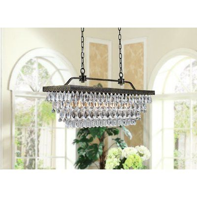 Newest Whitten 4 Light Crystal Chandeliers Pertaining To Find Pendants At Wayfair. Enjoy Free Shipping & Browse Our (Gallery 5 of 25)