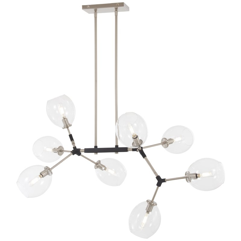 Nexpo 8 Light Sputnik Chandelier Within Trendy Asher 12 Light Sputnik Chandeliers (View 14 of 25)