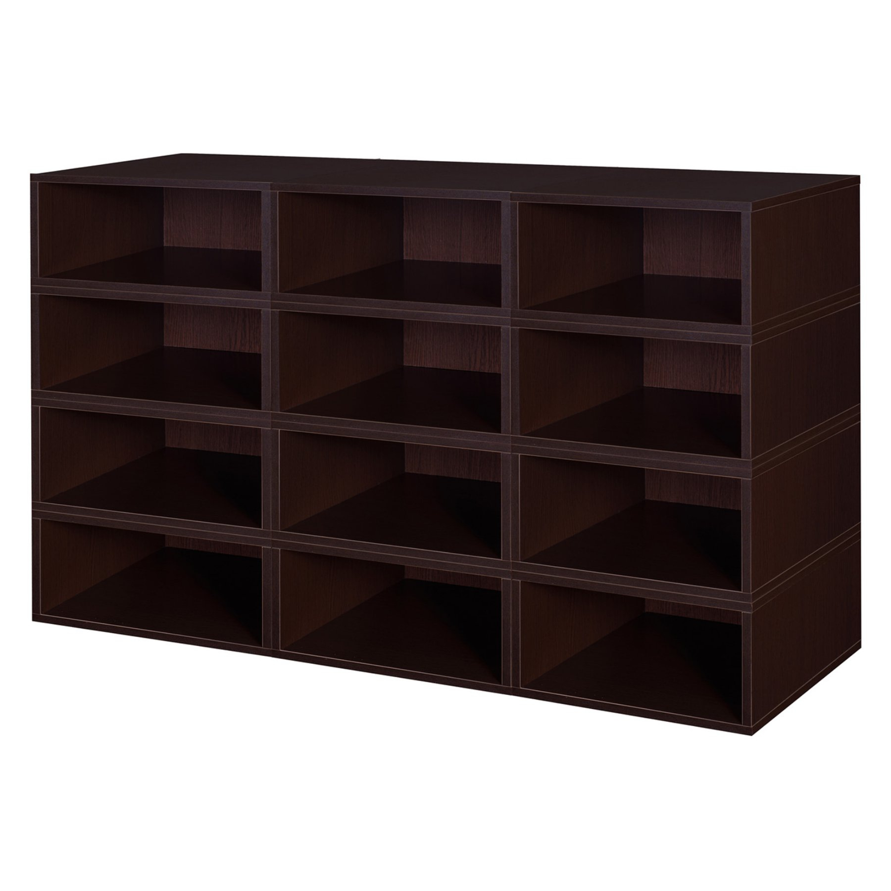 Niche Cubo Storage Set – 12 Half Size Cubes – Pc0612pktf For Newest Chastain Storage Cube Unit Bookcases (Gallery 11 of 20)