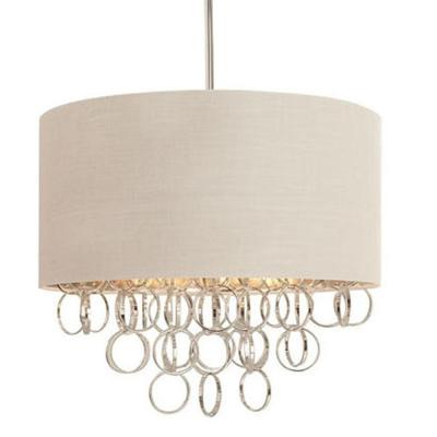 Nickel – Chandeliers – Lighting – The Home Depot Intended For Trendy Dirksen 3 Light Single Cylinder Chandeliers (Gallery 25 of 25)