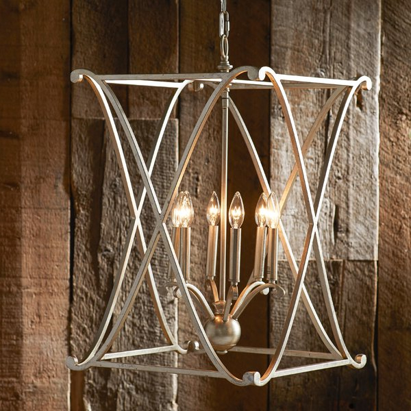 Nisbet 4 Light Lantern Geometric Pendant With Regard To Famous Nisbet 4 Light Lantern Geometric Pendants (Gallery 4 of 25)