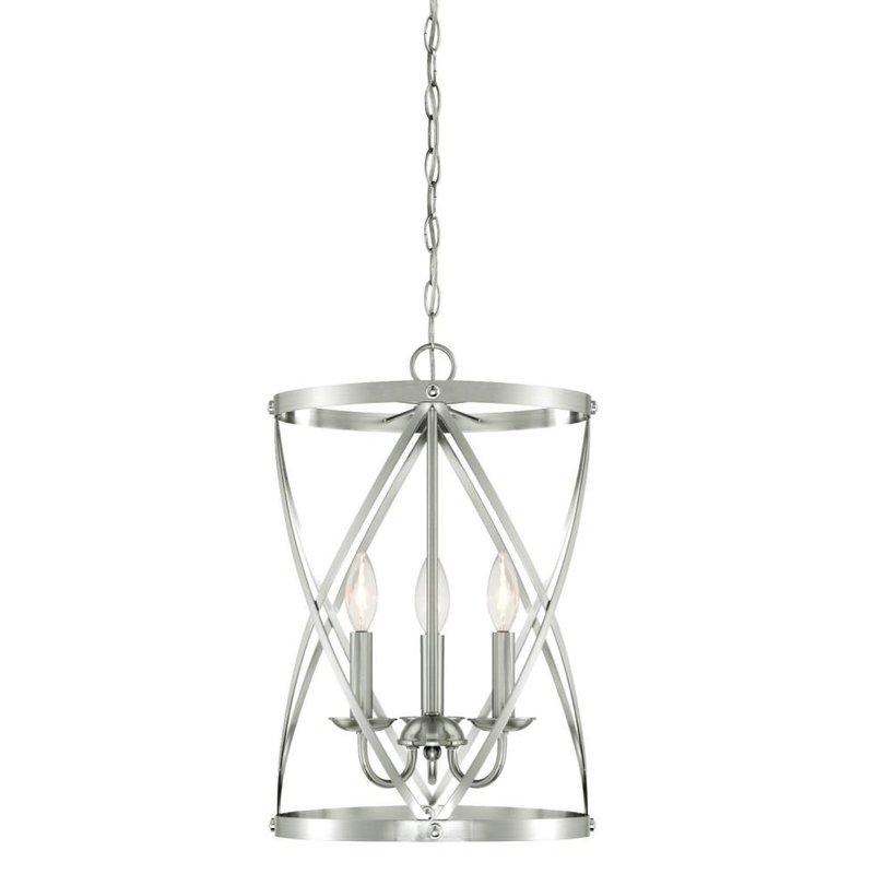Nisbet 6 Light Lantern Geometric Pendants With Well Liked Gingerich 3 Light Lantern Pendant (View 19 of 25)
