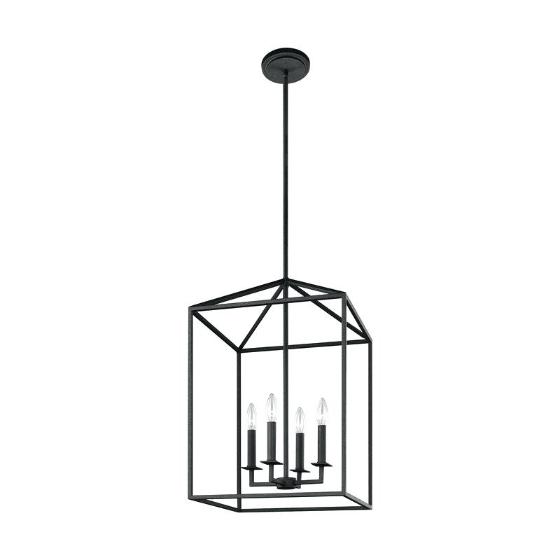 Odie 4 Light Foyer Pendant – Odiliazullo (View 21 of 25)