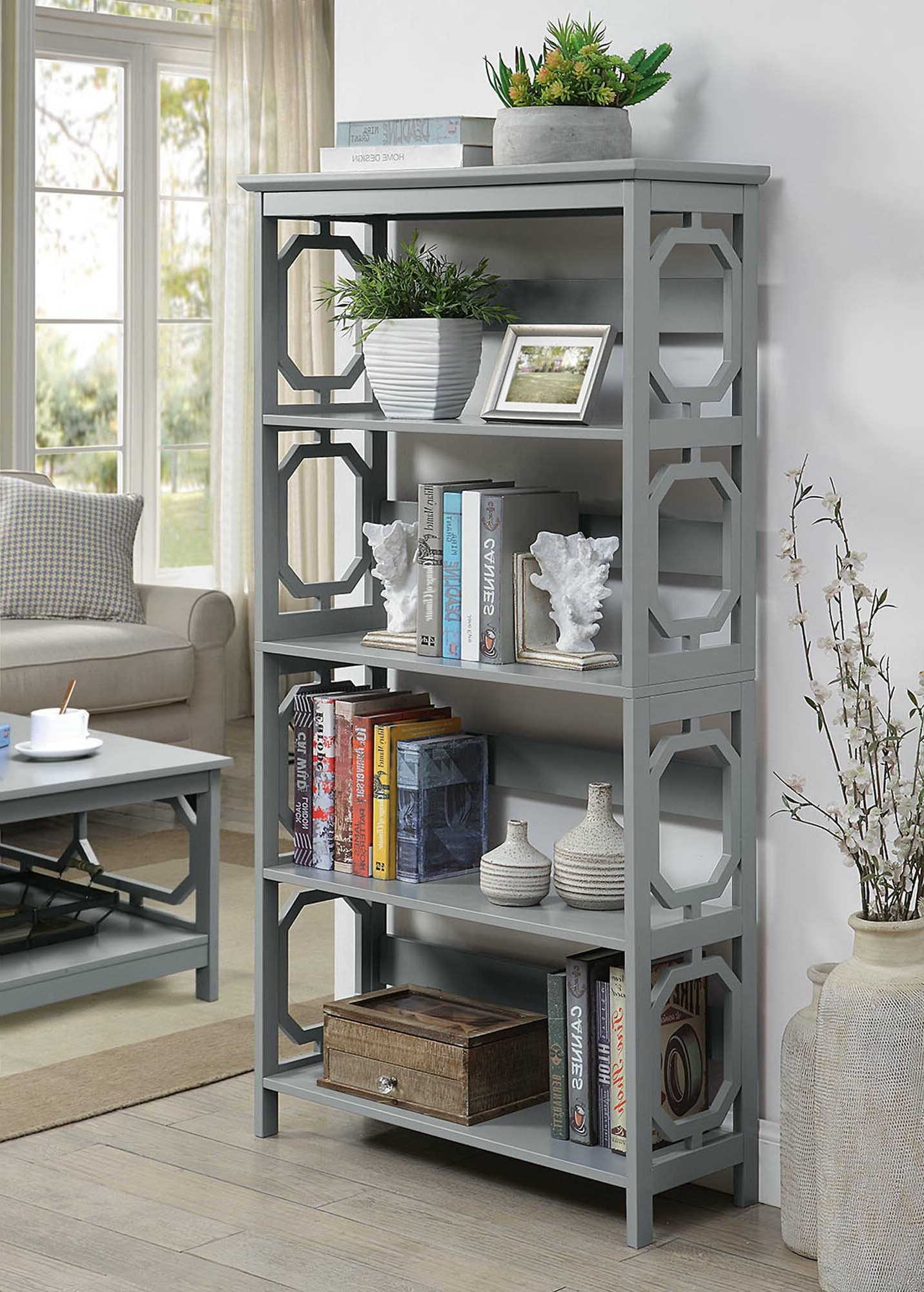 Oridatown Standard Bookcases Inside Most Recent Ardenvor Etagere Standard Bookcase (View 18 of 20)