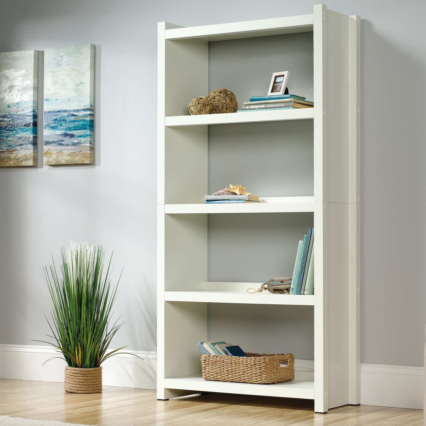 Ottery Standard Bookcase With Most Popular Myrasol Standard Bookcases (View 13 of 20)