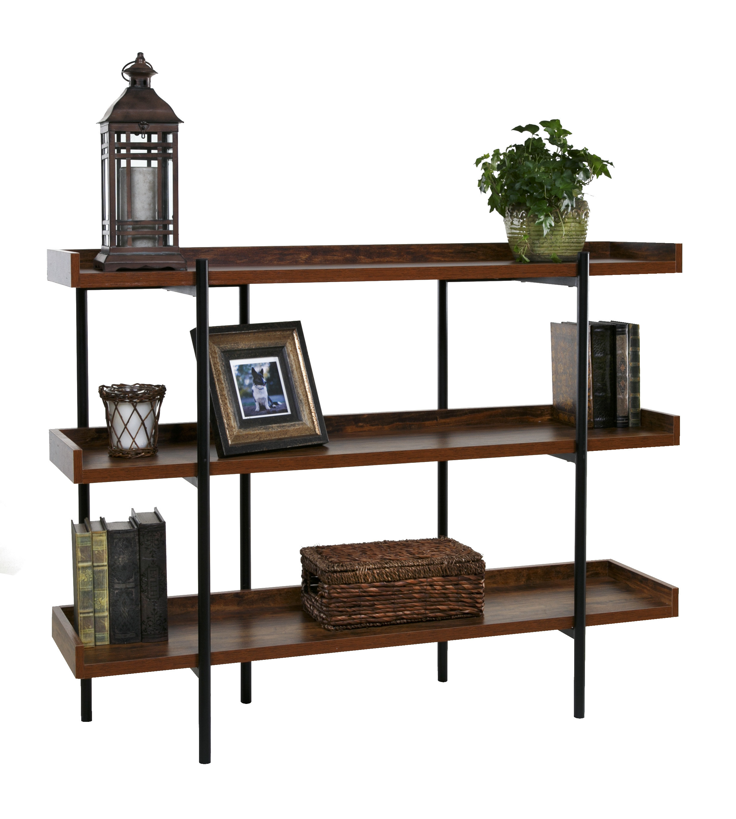 Parker Modern Etagere Bookcase Throughout Most Up To Date Ermont Etagere Bookcases (View 15 of 20)