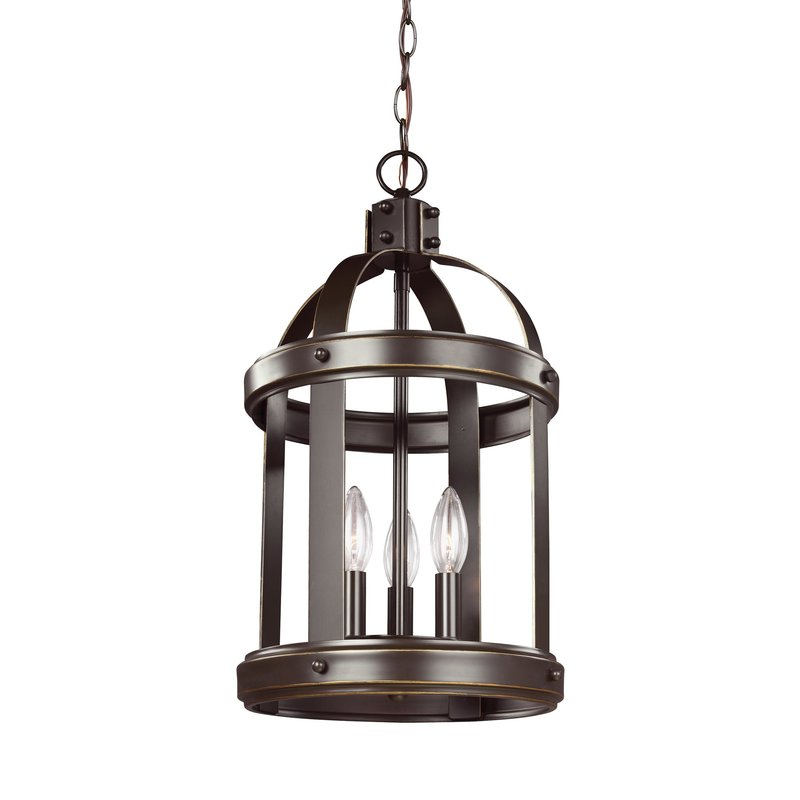 Pawling 3 Light Lantern Cylinder Pendant With Well Known Leiters 3 Light Lantern Geometric Pendants (View 9 of 25)