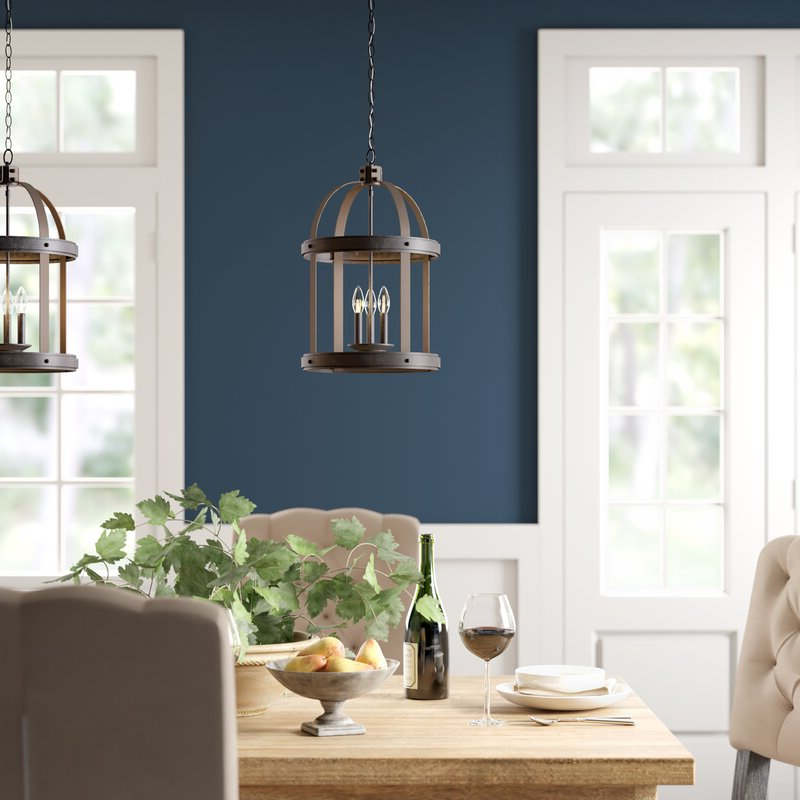 Pawling 3 Light Lantern Cylinder Pendant With Widely Used 3 Light Lantern Cylinder Pendants (View 16 of 25)