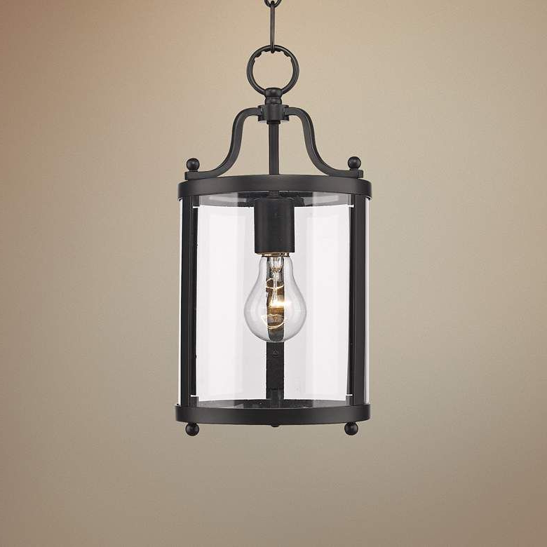 Payton 7 1 4 Wide Black Mini Pendant 33m86 Lamps Plus – Artofit Inside Newest Leiters 3 Light Lantern Geometric Pendants (View 25 of 25)