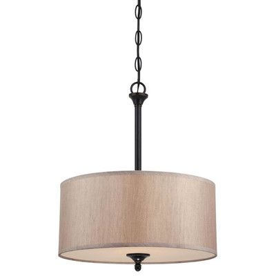 Pendant Within Tadwick 3 Light Single Drum Chandeliers (View 15 of 25)