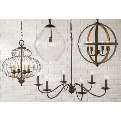 Perseus 6 Light Candle Style Chandelier (View 8 of 25)