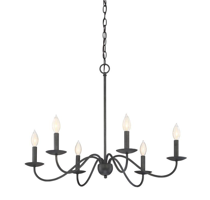 Perseus 6 Light Candle Style Chandelier (View 11 of 25)