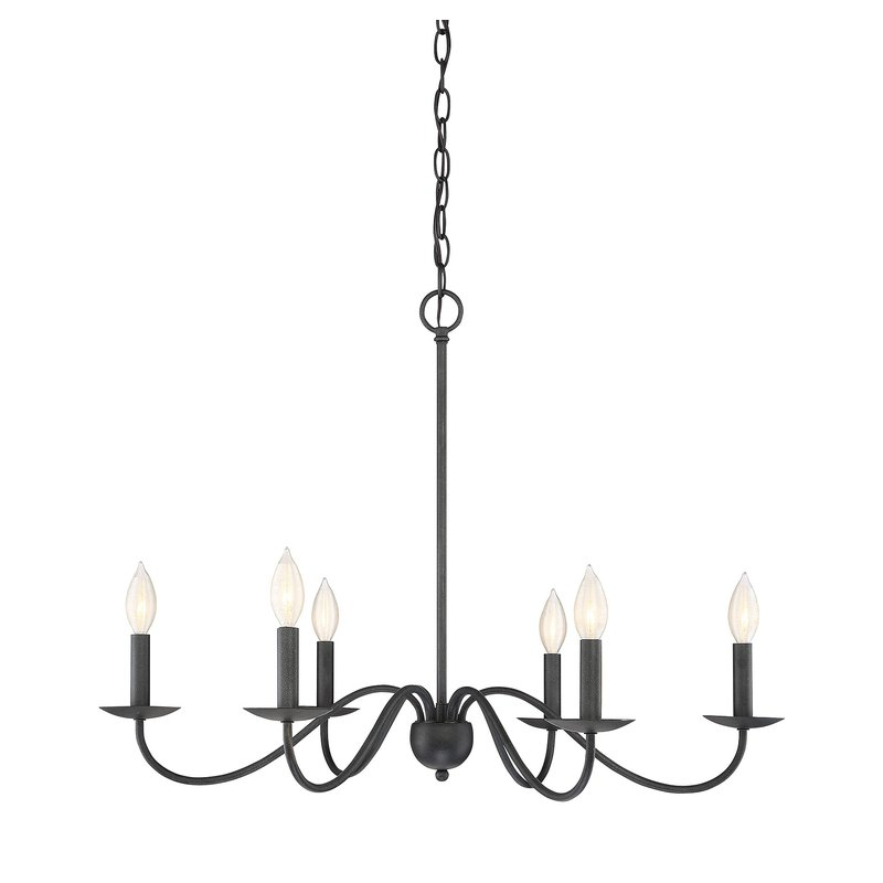 Perseus 6 Light Candle Style Chandeliers With Popular Perseus 6 Light Candle Style Chandelier (View 17 of 25)