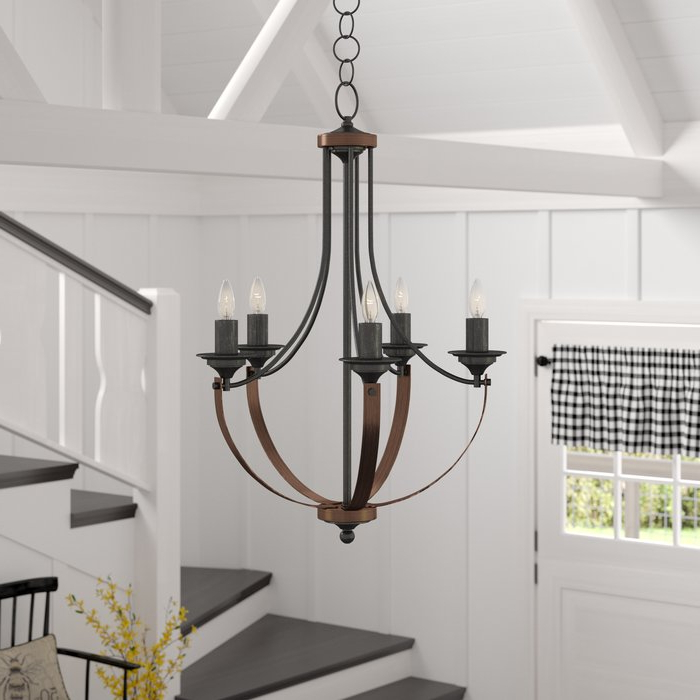 Phifer 6 Light Empire Chandeliers In Famous Kenna 5 Light Empire Chandelier (View 19 of 25)