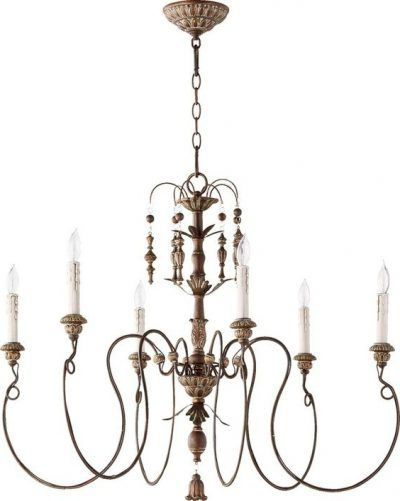 Pieces With Recent Bouchette Traditional 6 Light Candle Style Chandeliers (View 22 of 25)