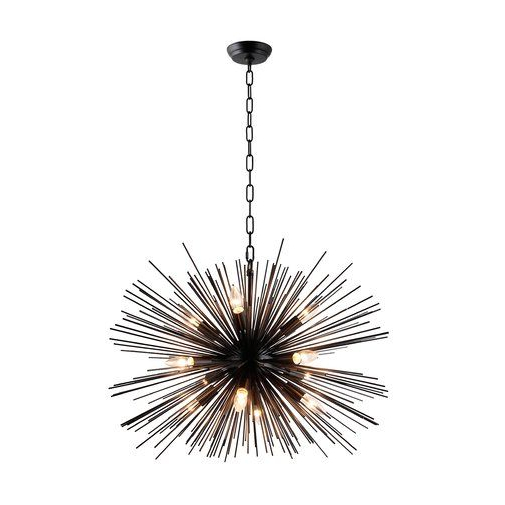 Pin On Architecture Photoshop With Most Current Nelly 12 Light Sputnik Chandeliers (View 7 of 25)