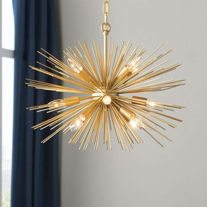 Pin On Feels Like Home To Me In Most Current Nelly 12 Light Sputnik Chandeliers (Gallery 4 of 25)