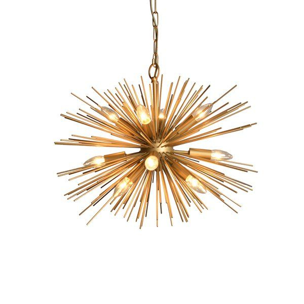 Pin On Final Stein Wealth Choices For Fashionable Nelly 12 Light Sputnik Chandeliers (View 18 of 25)