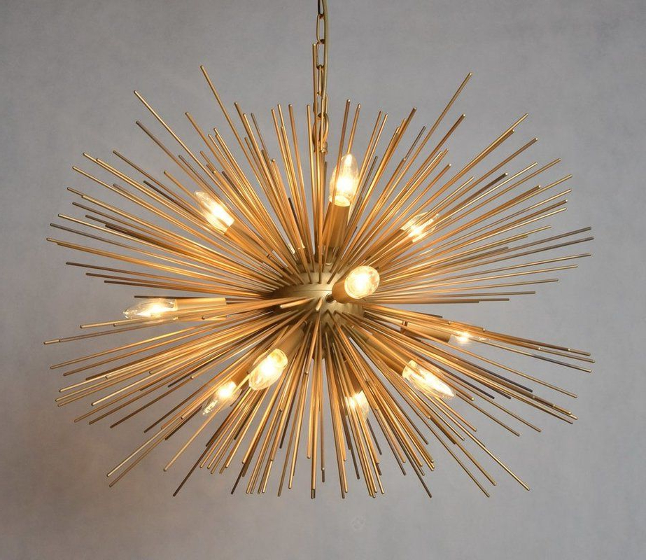 Pin On Kenzies New Room Regarding Most Recently Released Nelly 12 Light Sputnik Chandeliers (Gallery 12 of 25)