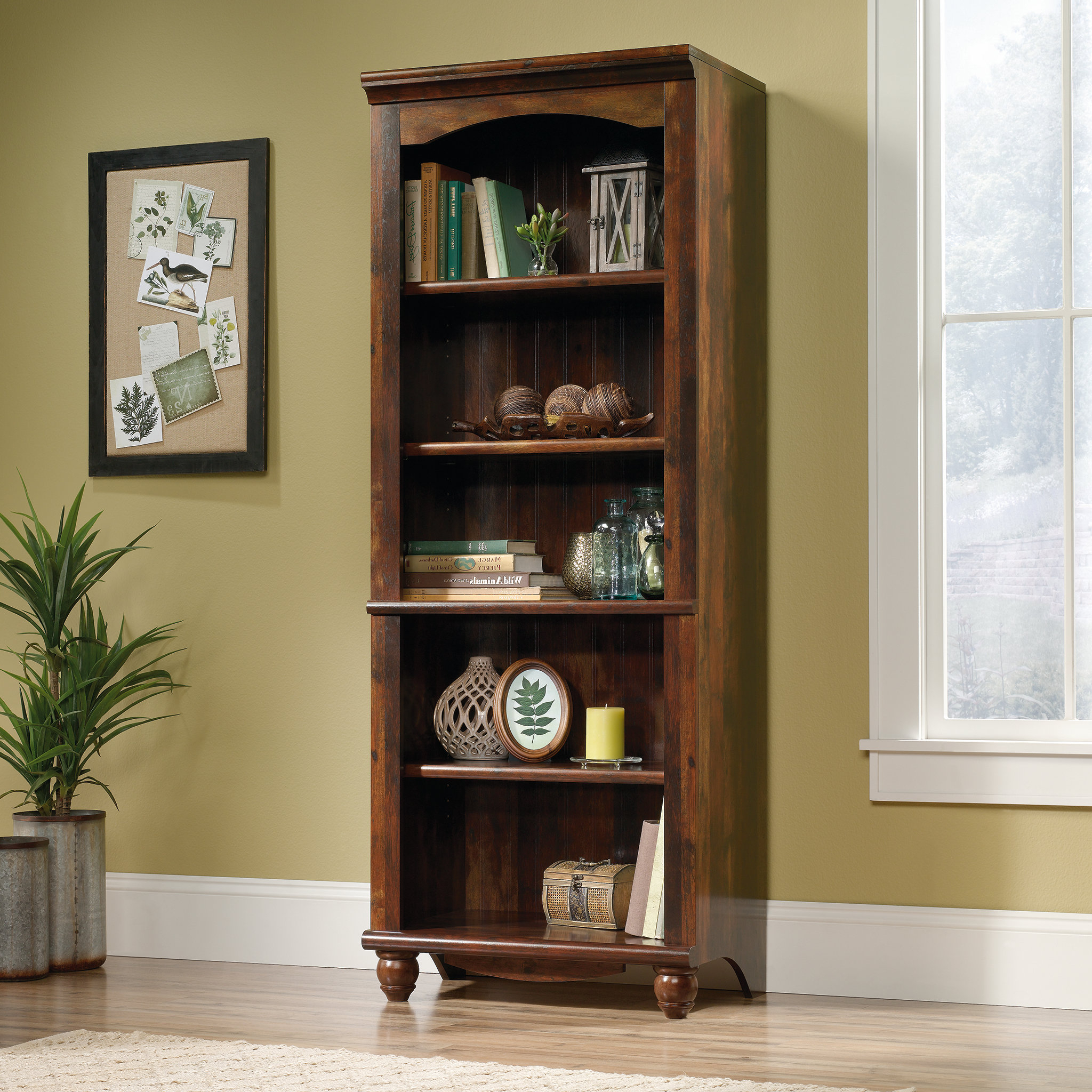 Pinellas Tall Standard Bookcases With Well Liked Pinellas Standard Bookcase (View 4 of 20)