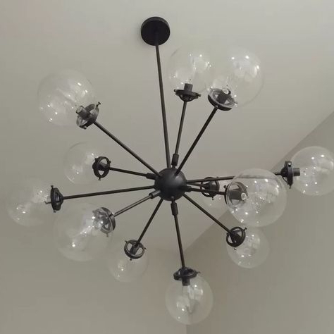 Pinterest – Пинтерест In 2017 Asher 12 Light Sputnik Chandeliers (View 16 of 25)