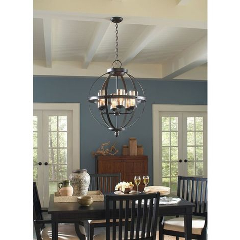 Pinterest – Пинтерест Intended For Most Recently Released Donna 6 Light Globe Chandeliers (Gallery 16 of 25)