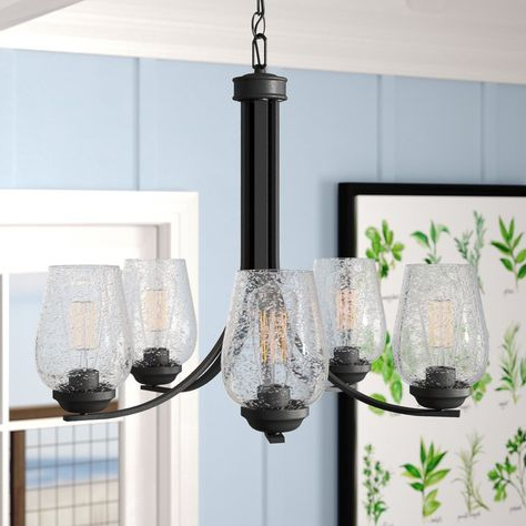 Pinterest Regarding Fashionable Newent 5 Light Shaded Chandeliers (View 18 of 25)