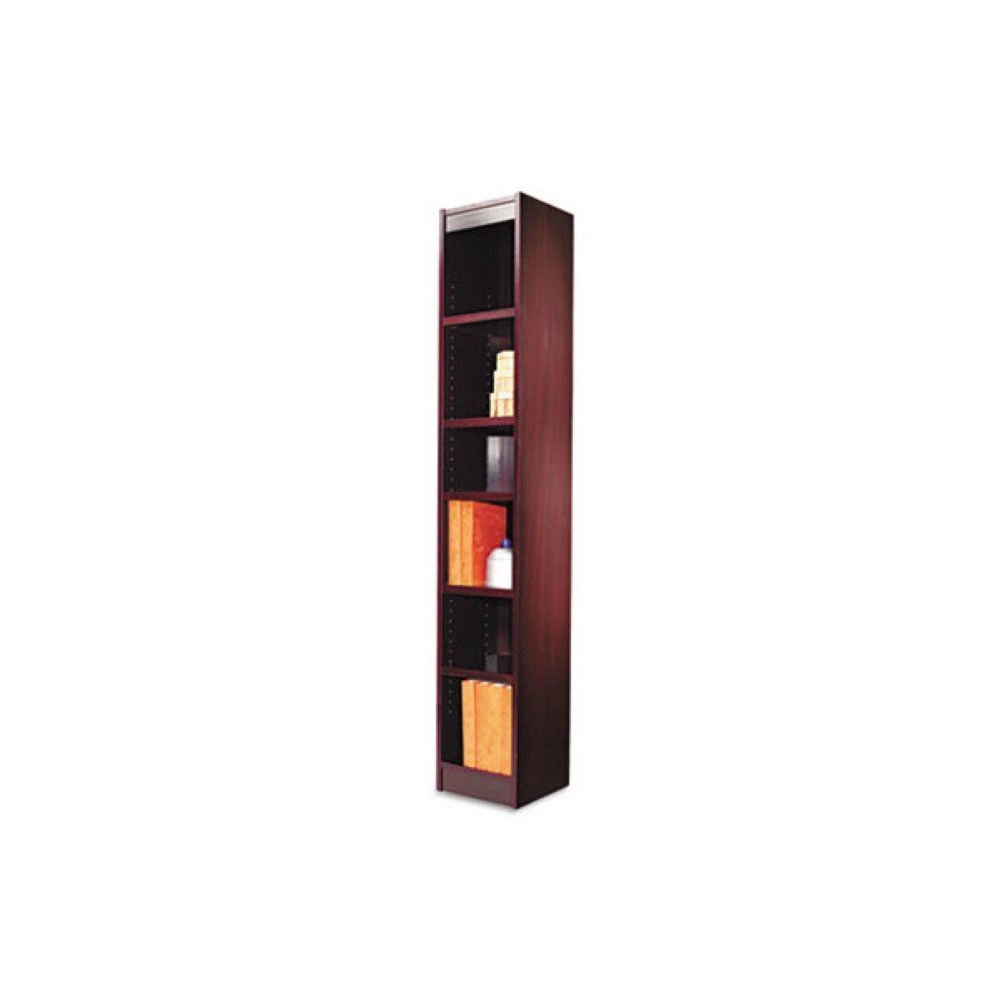 "Popular Amazon: Narrow Profile 72"" Standard Bookcase, Free In Narrow Profile Standard Cube Bookcases (Gallery 2 of 20)"