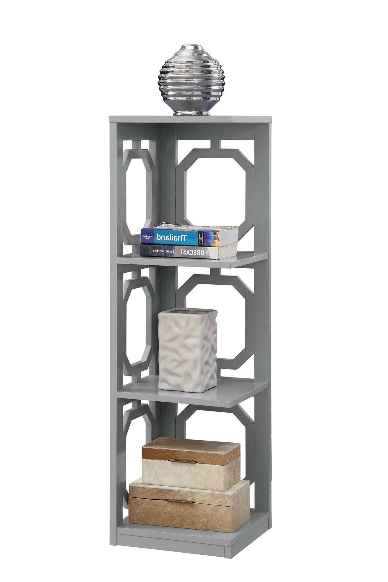 Popular Ardenvor Corner Bookcase Regarding Stoneford Corner Bookcases (View 20 of 20)