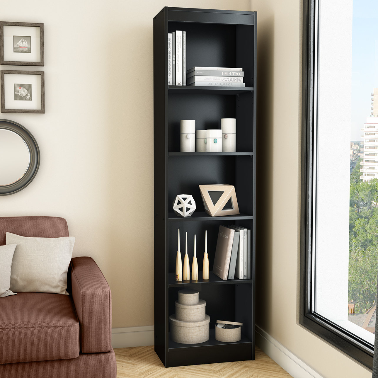 Popular Axess Standard Bookcases Pertaining To Axess Standard Bookcase (Gallery 13 of 20)