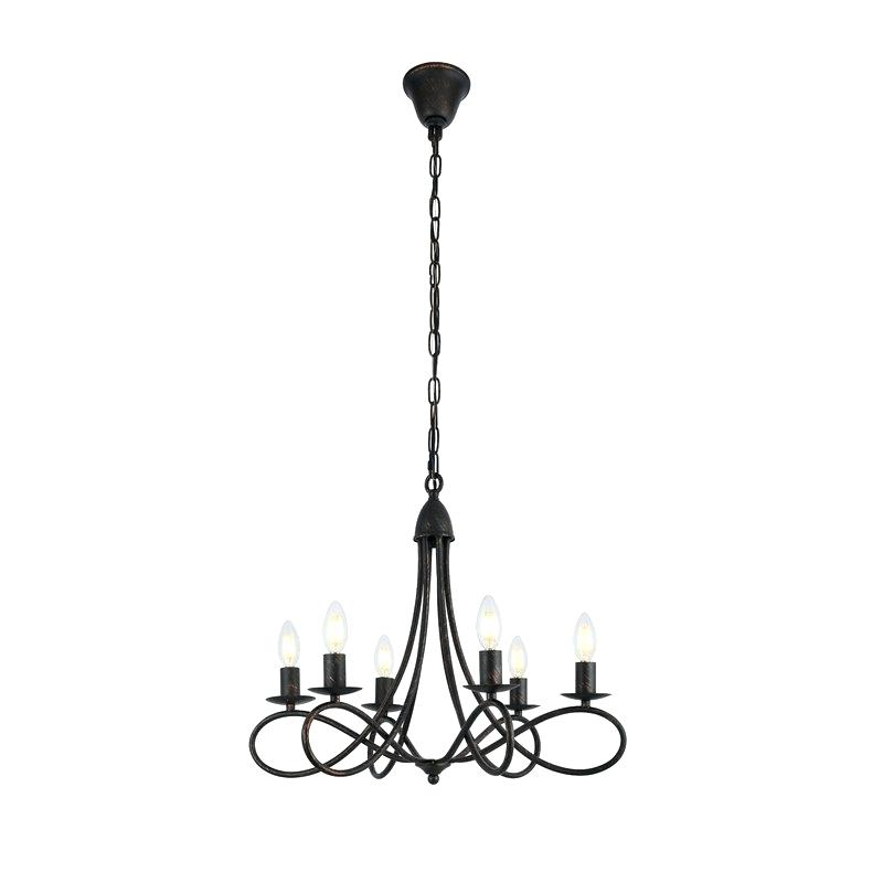 Popular Bennington 6 Light Candle Style Chandeliers Pertaining To Candle Style Chandelier – Bossmummy (View 15 of 25)