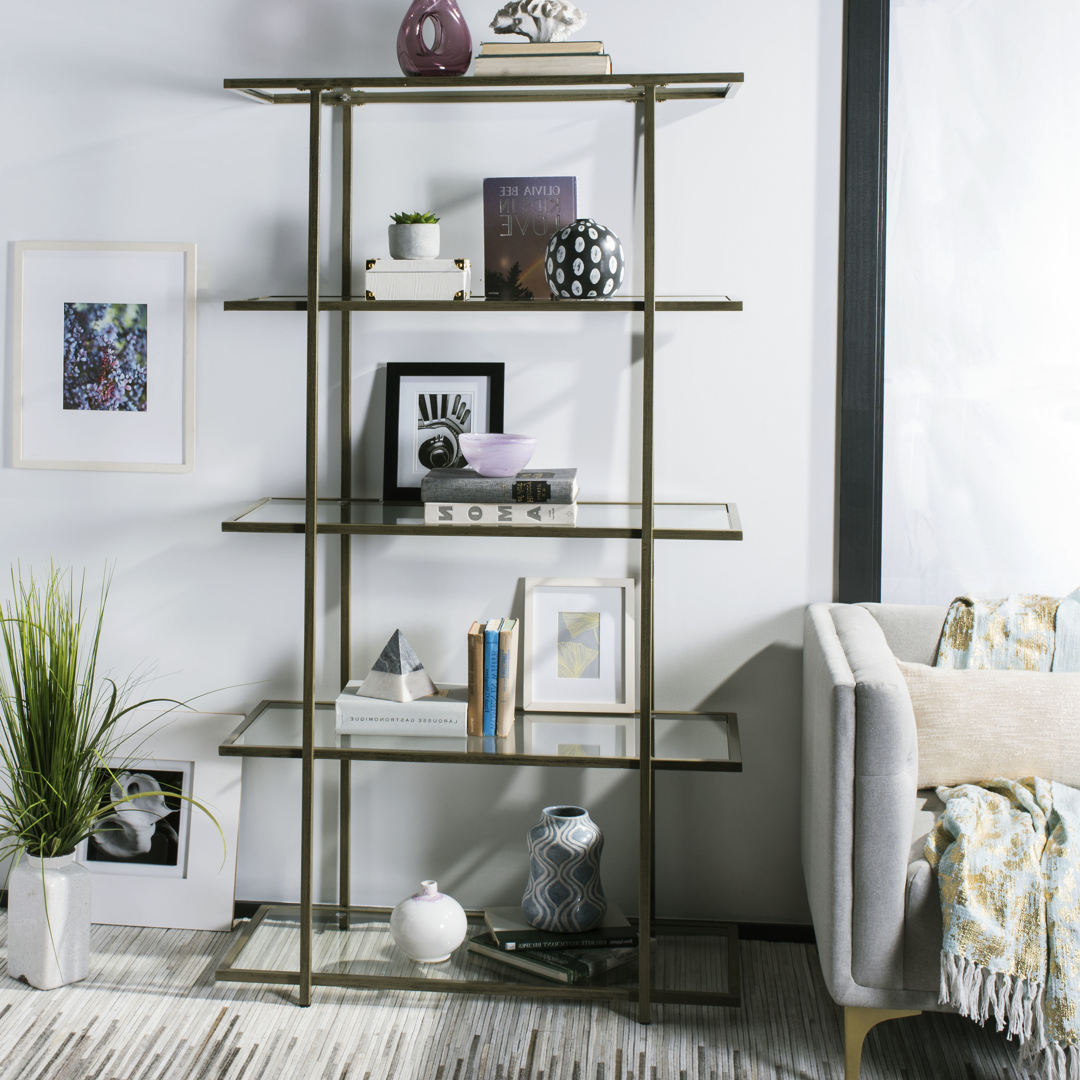 Popular Caldwell Etagere Bookcases Regarding Farrand Etagere Bookcase (View 8 of 20)