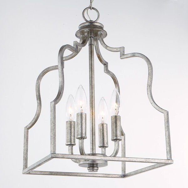 Popular Desloge 4 Light Lantern Pendant In  (View 22 of 25)