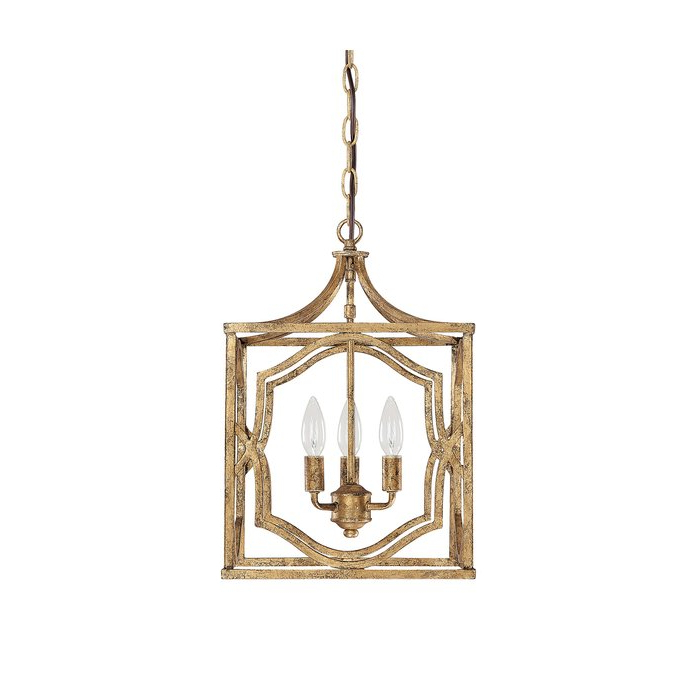 Popular Destrey 3 Light Lantern Square/rectangle Pendant Throughout Destrey 3 Light Lantern Square/rectangle Pendants (View 23 of 25)