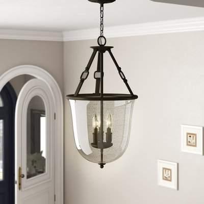 Popular Maude 3 Light Urn Pendant For Verdell 5 Light Crystal Chandeliers (View 14 of 25)