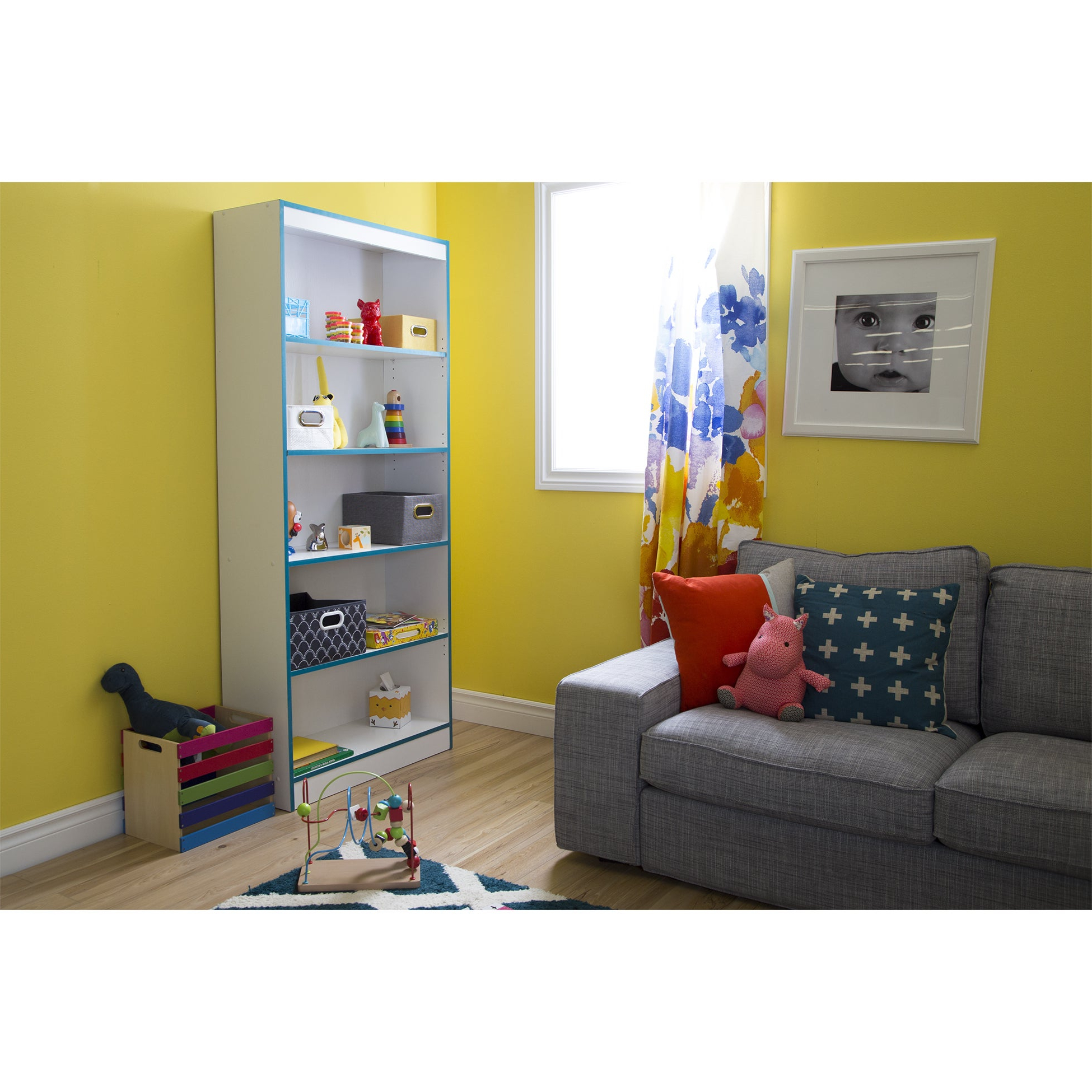 Popular South Shore Axess 5 Shelf Bookcase Intended For Axess Standard Bookcases (View 18 of 20)