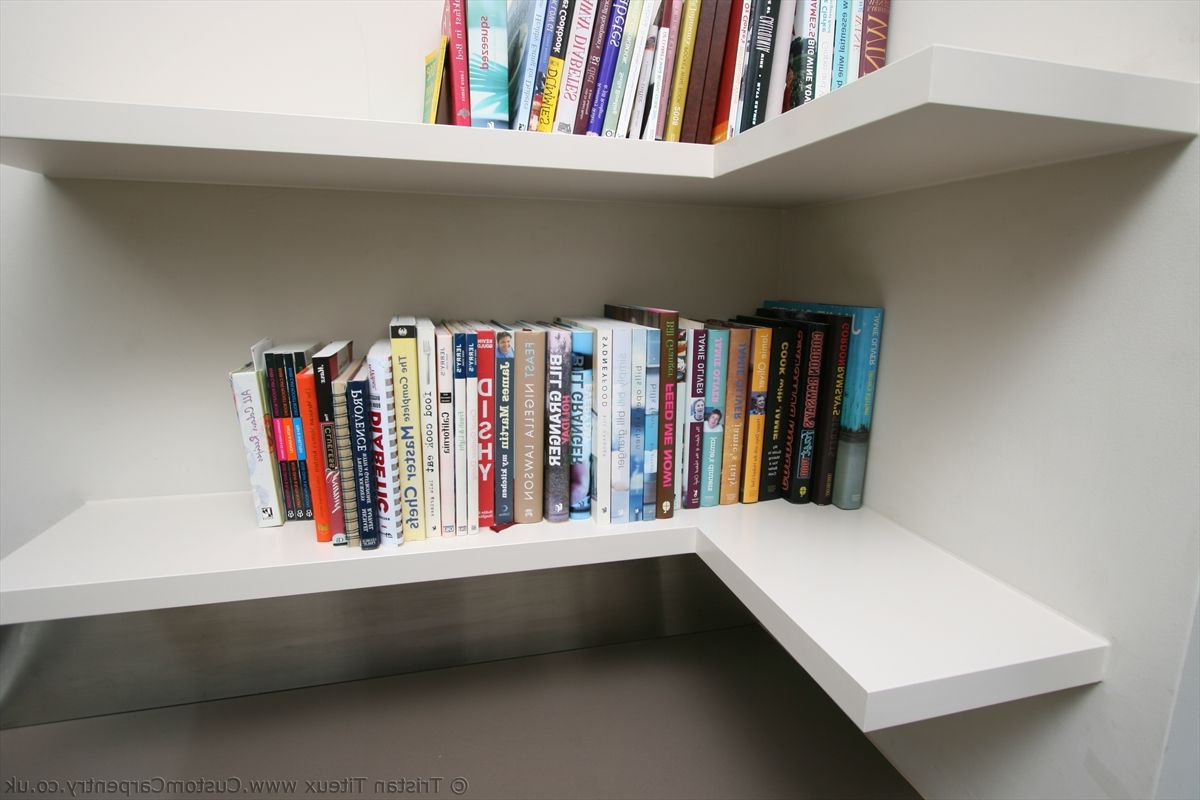 "Popular White Corner Bookcase — Mom's Tamales From ""l Shaped In Belcher Corner Bookcases (Gallery 17 of 20)"