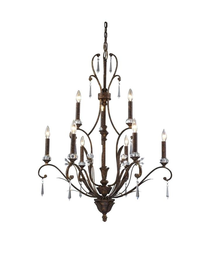 Portfolio Lyndsay 9 Light Chandelier Giverny Mcknight Candle Pertaining To Preferred Giverny 9 Light Candle Style Chandeliers (View 21 of 25)