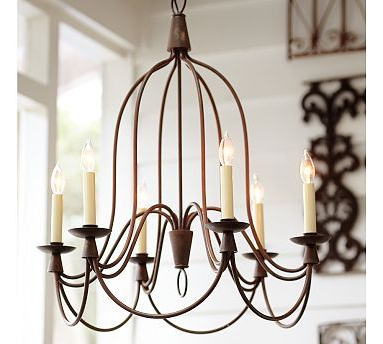 Pottery Barn Armonk Chandelier $399 Identical Light At Intended For Well Known Kenedy 9 Light Candle Style Chandeliers (View 18 of 25)
