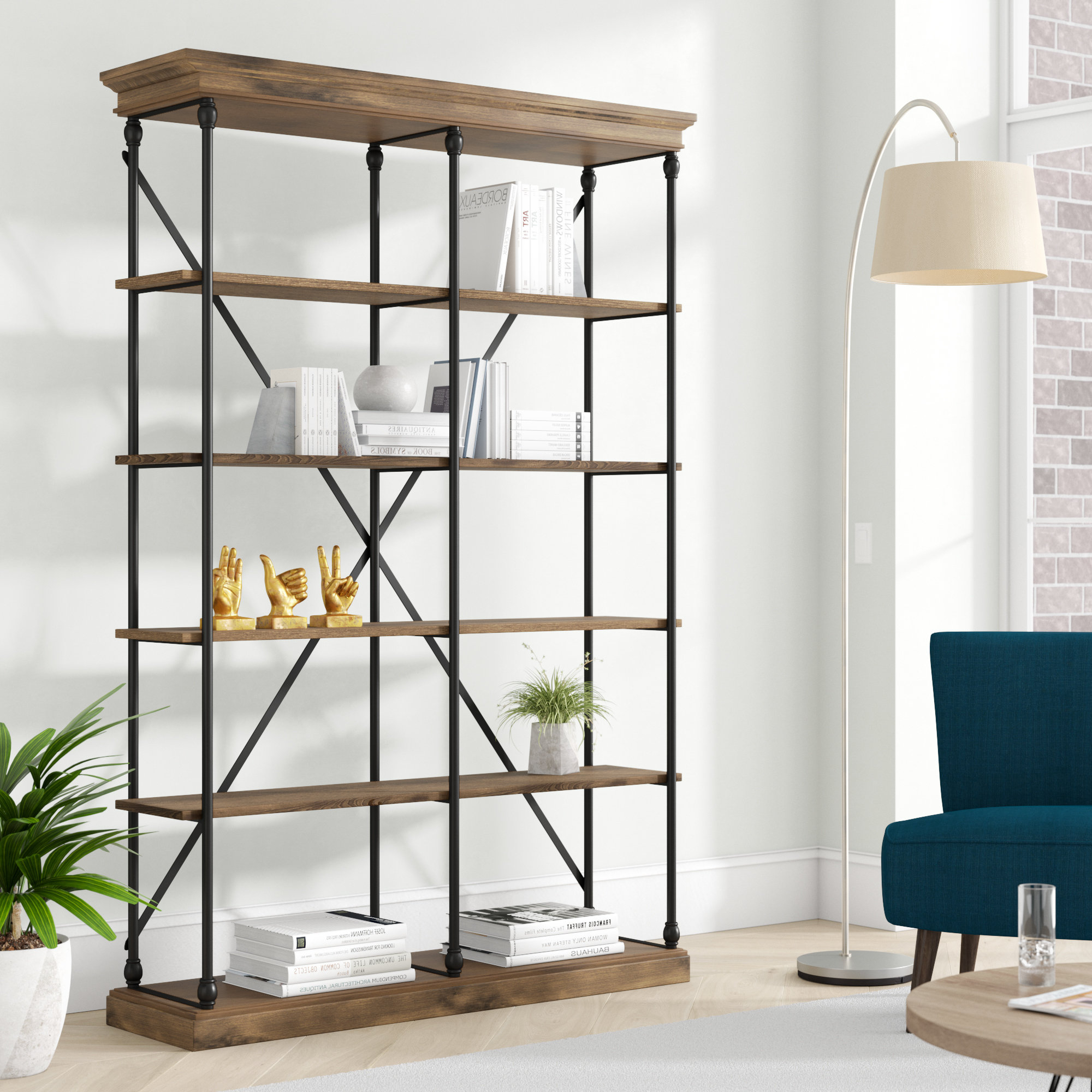 Poynor Etagere Bookcases Regarding Latest Beckwith Etagere Bookcase (View 11 of 20)