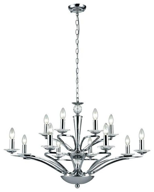 Preferred 12 Light Chandelier – Dimensidigital Within Vroman 12 Light Sputnik Chandeliers (View 15 of 25)