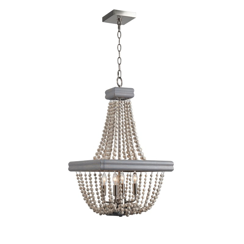 Preferred 4 Light Empire Chandelier Within Ladonna 5 Light Novelty Chandeliers (View 23 of 25)