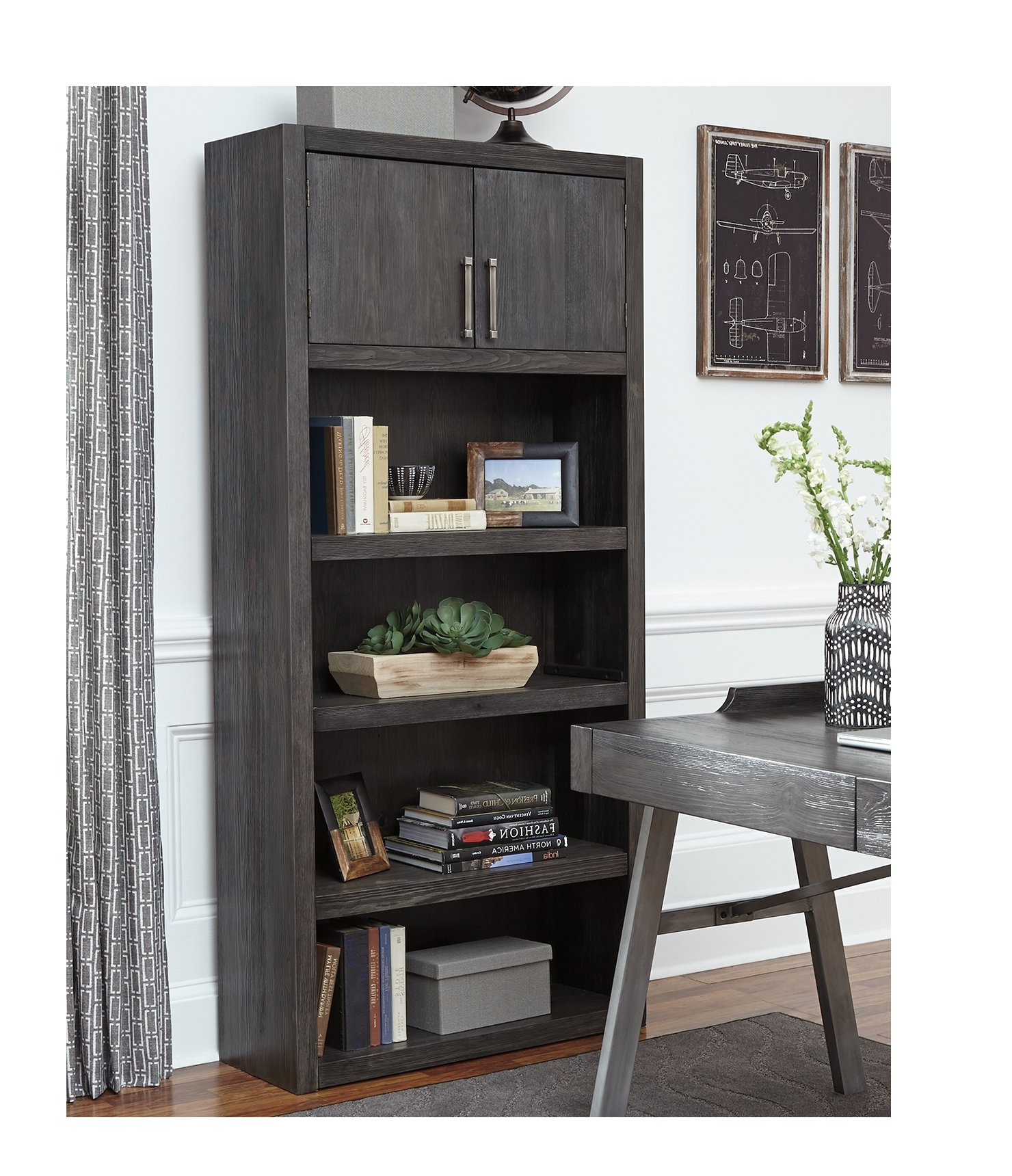 Preferred Amherst Standard Bookcase Within Kronqui Standard Bookcases (Gallery 13 of 20)