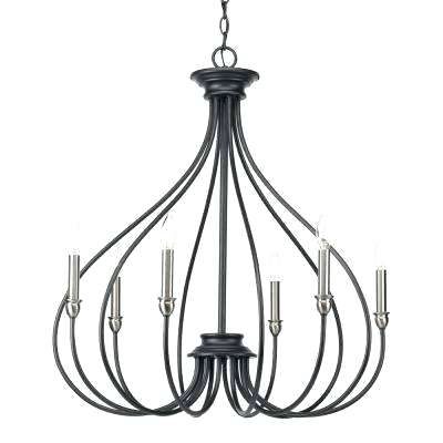 Preferred Armande Candle Style Chandeliers In Candle Style Chandelier Black Progress Lighting Chandeliers (View 10 of 25)