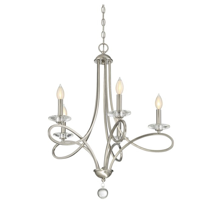 Preferred Berger 5 Light Candle Style Chandeliers Throughout Berger 5 Light Candle Style Chandelier (Gallery 3 of 25)