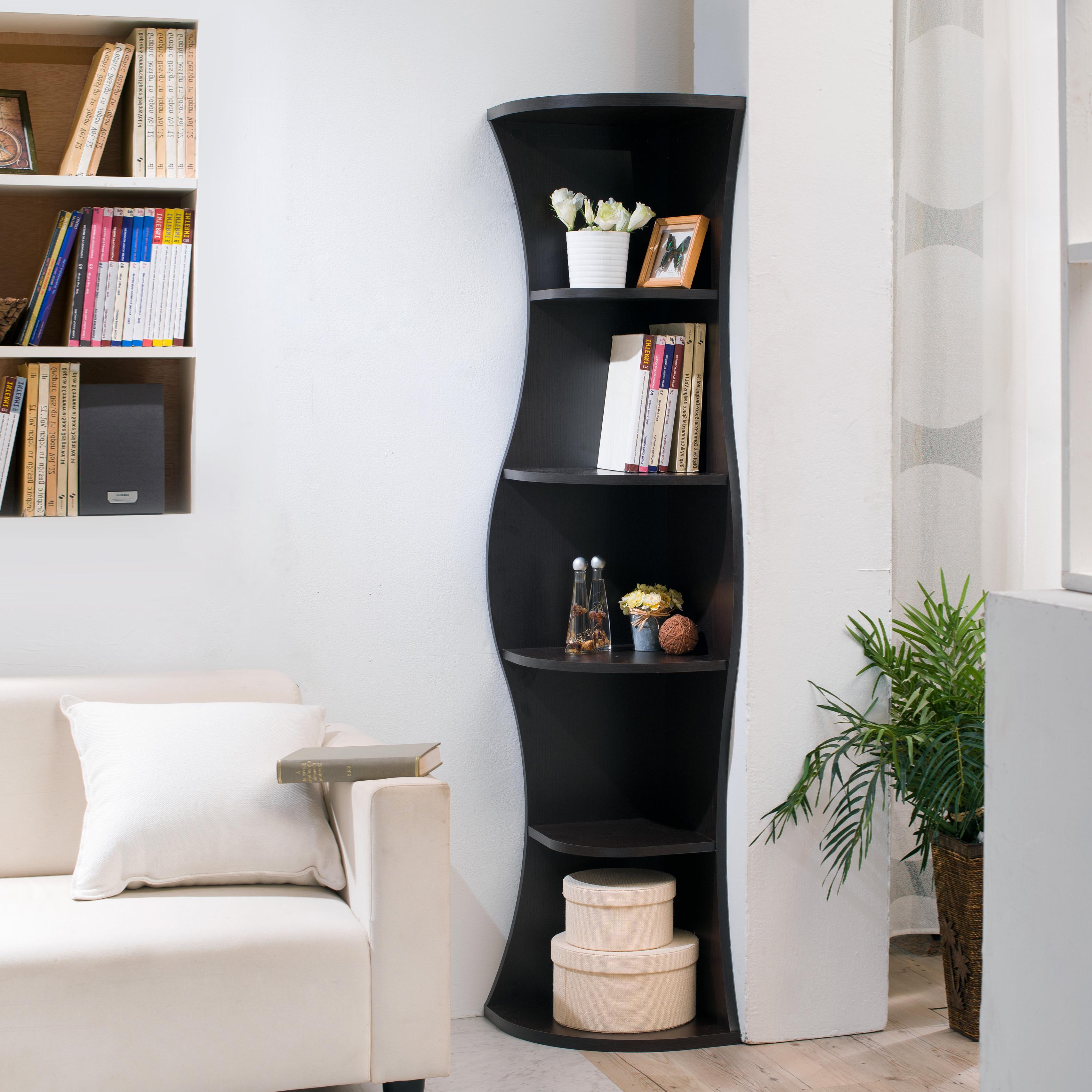 Preferred Corner Unit Bookcases For Corner Bookcase (Gallery 2 of 20)