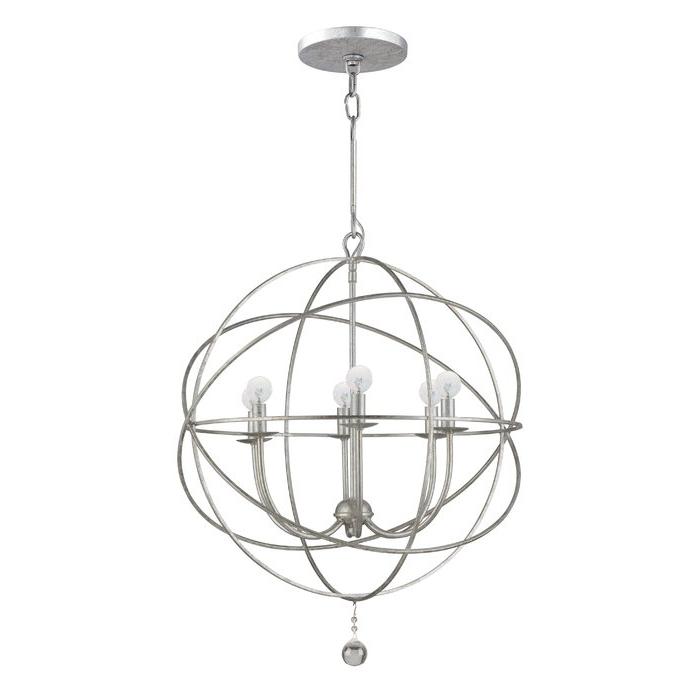 Preferred Eastbourne 6 Light Unique / Statement Chandeliers With Regard To Gregoire 6 Light Globe Chandelier (View 18 of 25)