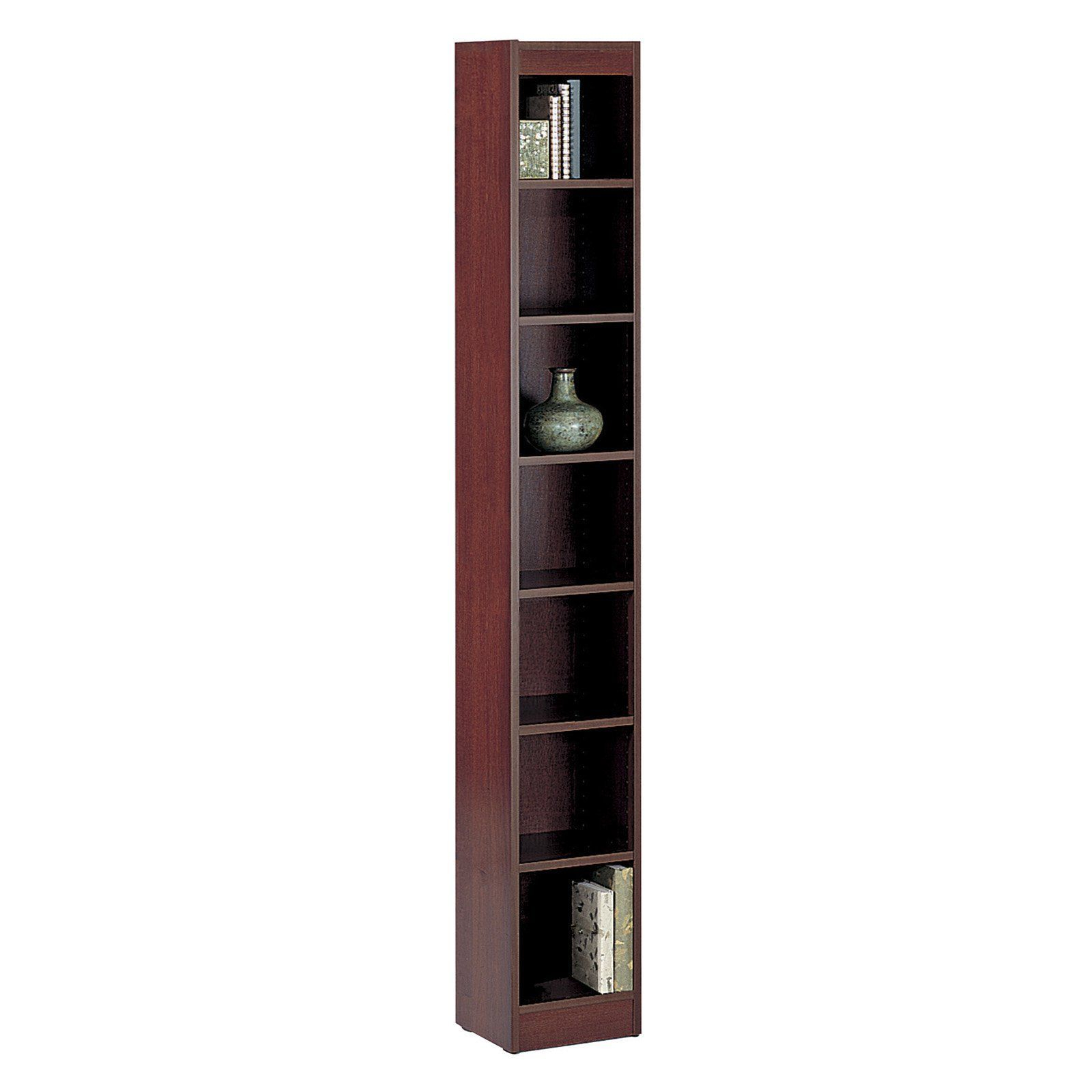 Preferred Have To Have It. Safco 7 Shelf Veneer Baby Bookcase – 12W In Intended For Narrow Profile Standard Cube Bookcases (Gallery 6 of 20)