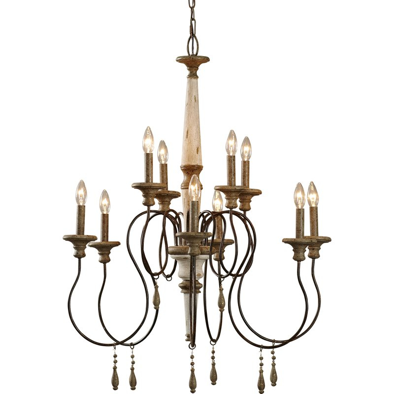 Preferred Lark Manor Armande Candle Style Chandelier Throughout Armande Candle Style Chandeliers (View 8 of 25)