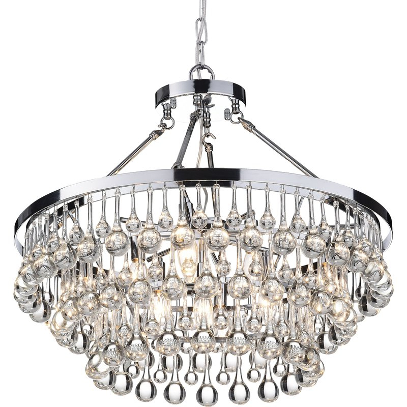 Preferred Mcknight 9 Light Chandeliers With Regard To Mcknight 9 Light Chandelier (Gallery 1 of 25)
